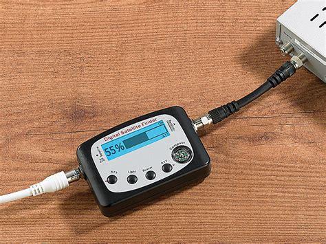 Mit Finder Esosat Digitaler Satelliten Finder Mit Kompass Lcd Display Und Tonsignal