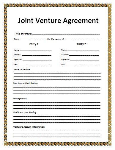 agreement templates  word templates