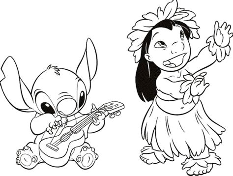coloring pages of lilo and stitch lilo and stitch characters coloring pages coloring