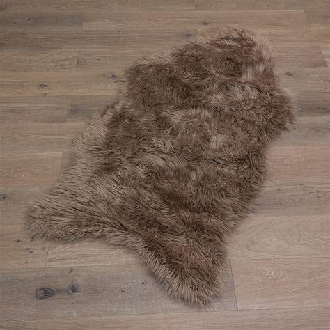 fell teppich imitat premium lammfell schaffell kunst fell weich fell teppich