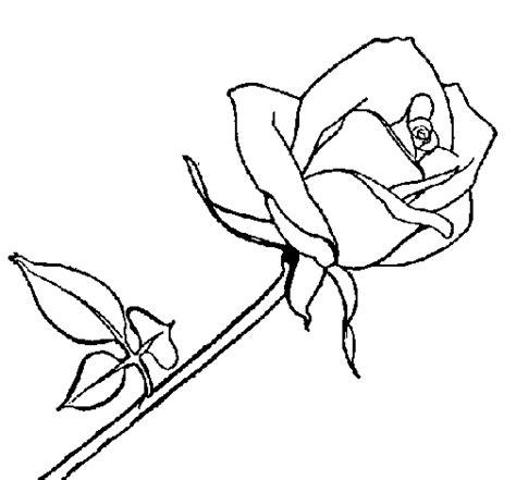 imagenes para dibujar de rosas dibujo de rosa para colorear dibujos net
