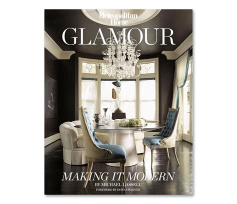 home decorating book design library glamour making it modern by michael