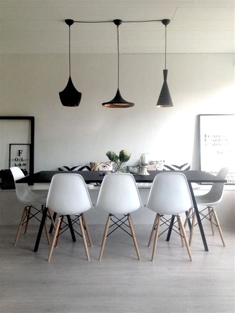 dinner table lighting dining room hay loop table tom dixon beat light eames