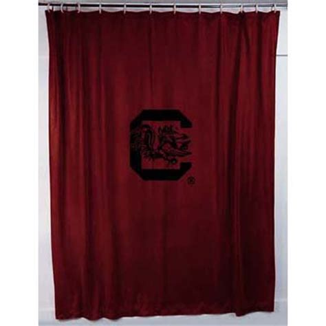 locker room shower curtains south carolina gamecocks locker room shower curtain