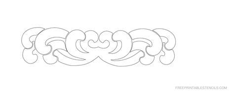 printable stencils border printable decorative border stencils free printable stencils