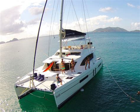 island girl catamaran charter something wonderful crewed catamaran charter british