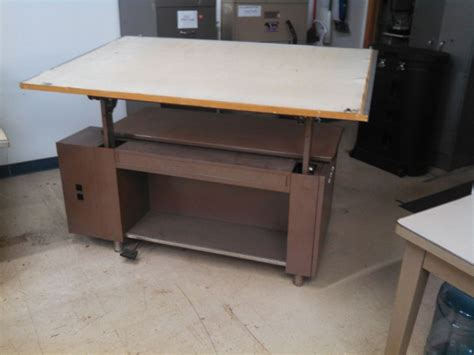 Small Drafting Desk Small Drafting Table With Parallel Bar Diavolet Designs