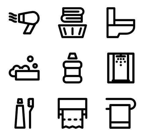 bathroom icons bathroom icons 2 361 free vector icons