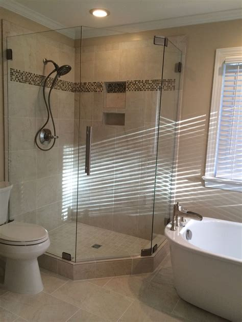 Stand Up Shower Tub Shower And Stand Alone Tub Shower Doors