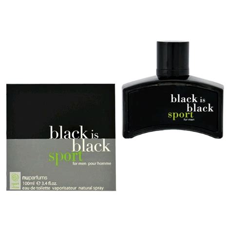 Parfum Avicenna Black Sport black is black sport cologne by nu parfums 3 4 oz edt spray for new ebay