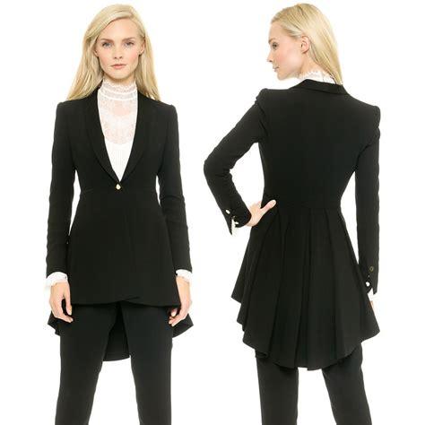 Cola Blazer 2015 autumn blazer sleeve blazer slim fit black xs