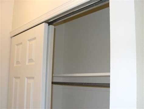 bypass cabinet door hardware closet door a diy door tutorial to add trim to plain