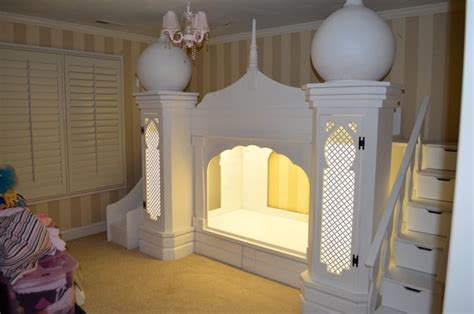 girls princess beds disney princess girls princess castle bed mediterranean