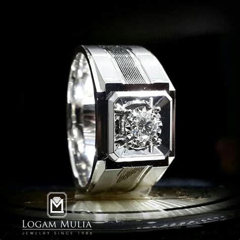 Cincin Berlian Solitaire Pria 1005 jual sold cincin berlian pria dvmc cm0307 dete
