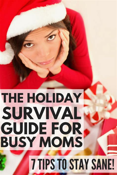 7 Secrets To Gear Up For The Holidays by The Survival Guide For Busy 7 Tips To Stay Sane