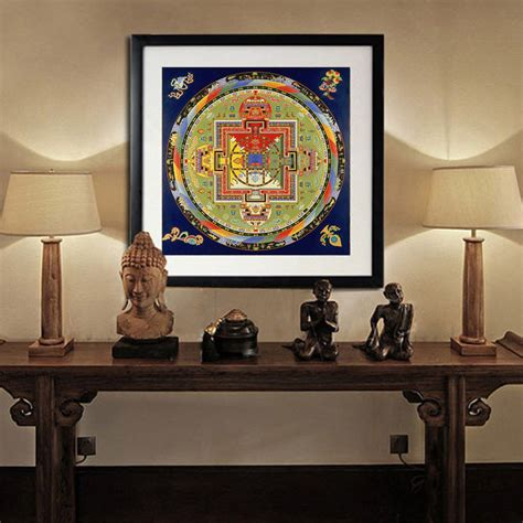 indian home decor stores nepal religion faith mandala painting tibet thangka art