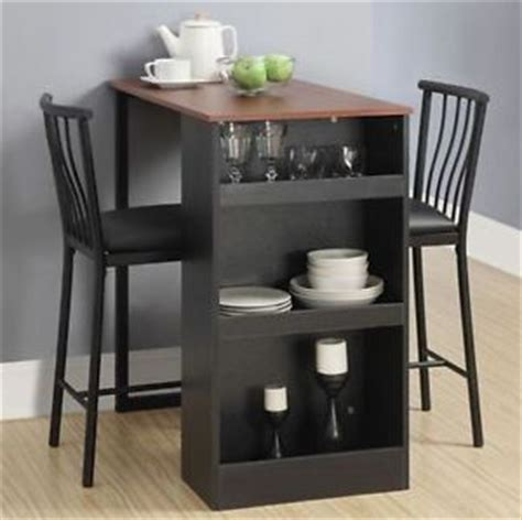 small space saving kitchen bar table set pub counter