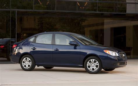 2010 hyundai elantra blue widescreen car picture