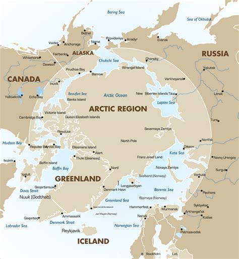arctic map arctic travel information goway