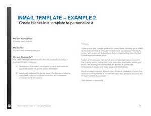 inmail template linkedin informed event for recruitment agencies belgium