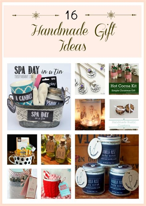 Handcrafted Gift Ideas - handmade gift ideas anything everythinganything