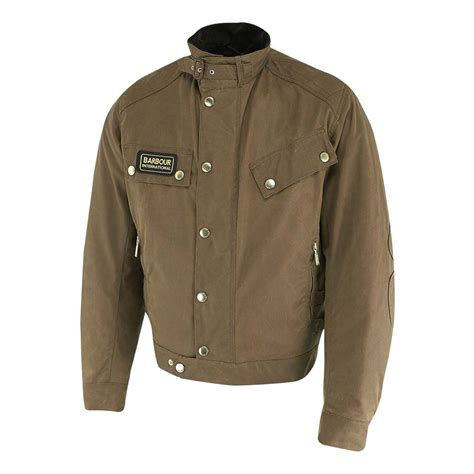 moto style jacket part of the barbour motorycle clothing capsule the