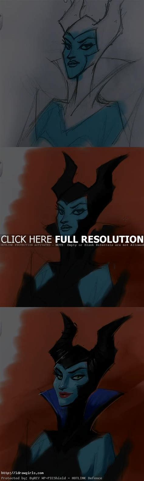 sketchbook pro painting tutorial painting maleficent tutorial using sketchbook pro 6