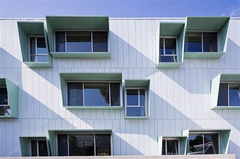 sun screens for house windows kevin daly architects broadway housing in santa monica