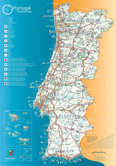 carte du portugal cartes  plans du portugal