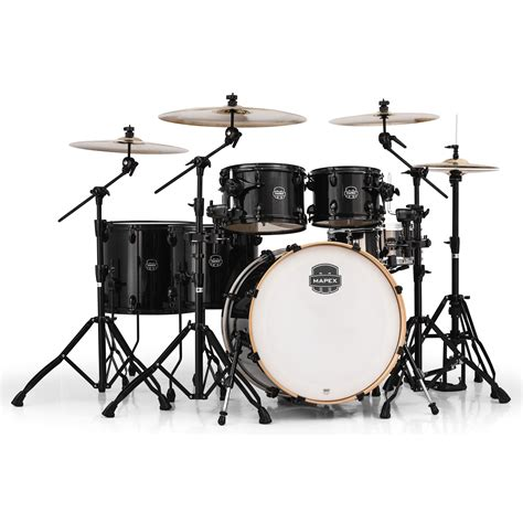 Drum Set mapex armory 6 studioease fast drum set shell pack 22 quot bass 10 12 14 16 quot toms 14 quot snare