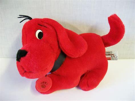 clifford the big stuffed animal 1997 scholastic clifford the big plush stuffed animal 9 quot ebay