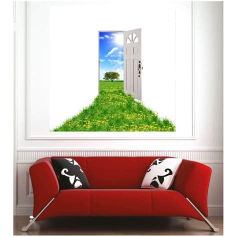 Poster Mural Exterieur by Affiche Poster Porte Ouverte Vers L Ext 233 Rieur D 233 Co