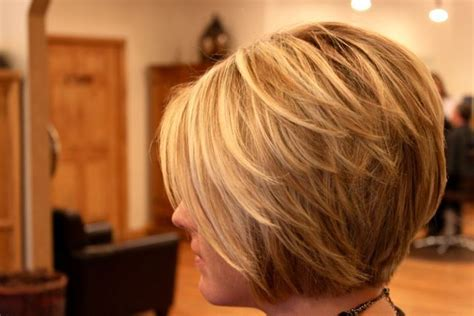 back side bob cut side view of cute layered bob cut hairstyles weekly