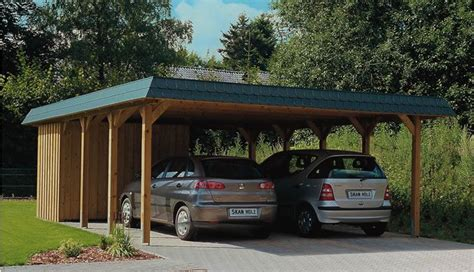 Carport Cover 5735 by Rustic Car Ports Flat Roof Carport With Space For Two