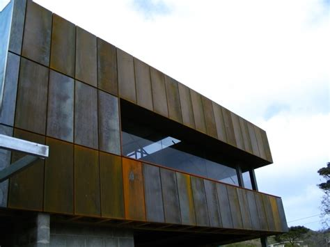 Home Interior Materials by Corten Steel Rusted Wall Cladding Panels