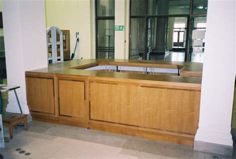 Library Reception Desk S Barber And Co