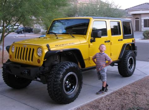 Jeep Jk 35 Inch Tires Jeep Jk Yellow 35 Inch Tire Jeep