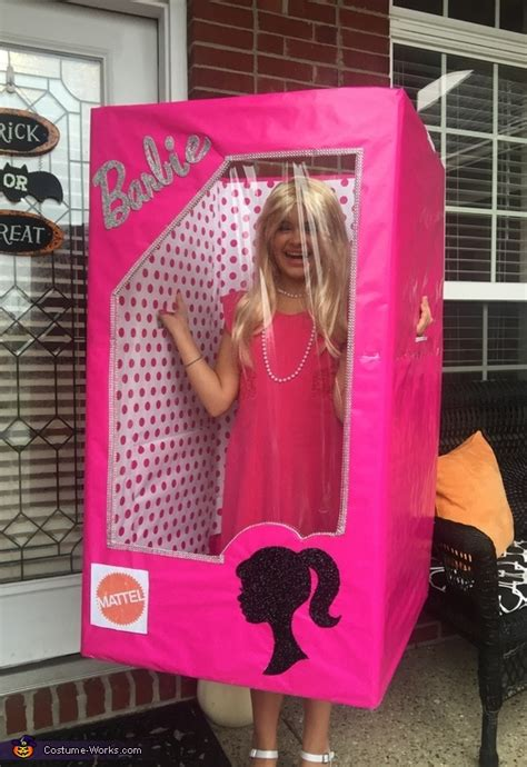 barbie   box diy girls costume