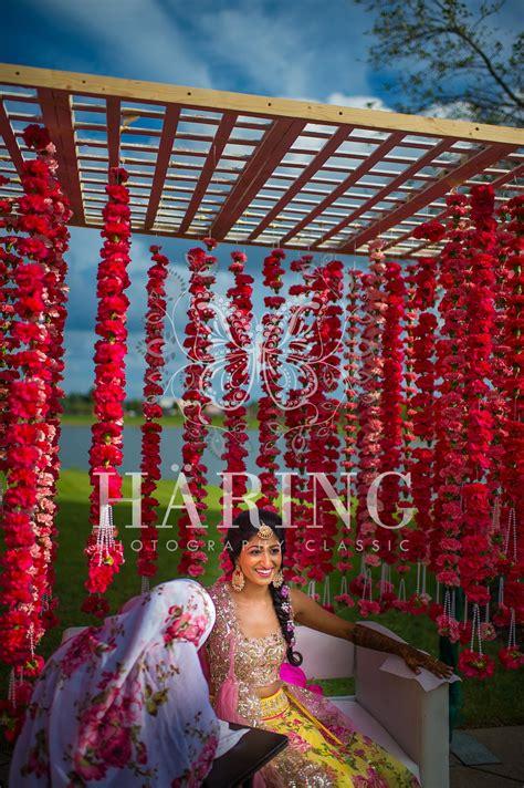 simple mehndi wedding decoration neha miami wedding