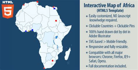 africa map interactive interactive map of africa by art101 codecanyon