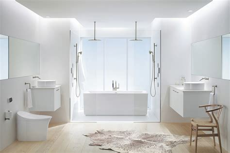all white bathroom ideas 2018 create a trendy bathroom with a white color palette the seattle times