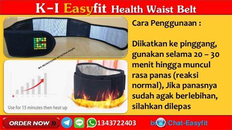 Terapi Syaraf Kejepit Di Pinggang Easyfit Waist Belt 1 wa 081343722403 k i easyfit waist belt k link