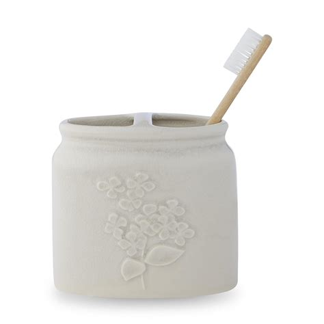 Ceramic Toothbrush Holder colormate ceramic toothbrush holder floral