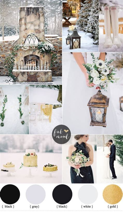 25  best ideas about December wedding colors on Pinterest