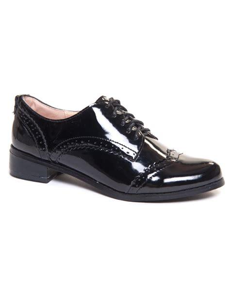 longch derby verni totebag ori chaussures richelieu vernis femme