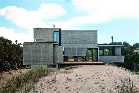 concrete home designs bare concrete beach house modern house designs