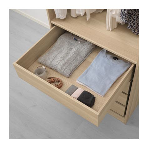 schublade pax komplement drawer white stained oak effect 75x58 cm ikea