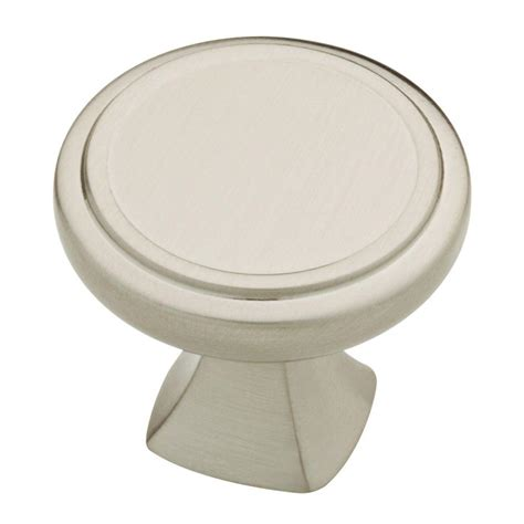 liberty 1 1 4 in satin nickel hollow cabinet knob p11747v sn c liberty ashtyn 1 1 4 in satin nickel round cabinet knob