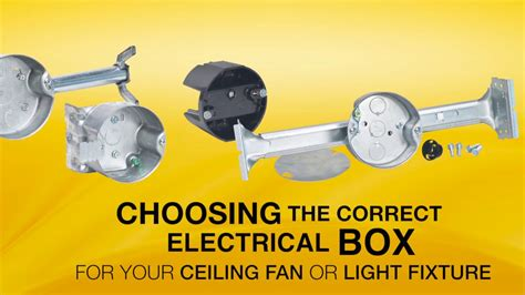 ceiling fan junction box raco 294 ceiling fan box youtube