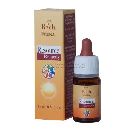fiori di bach resource remedy guna resource remedy 10 ml tuttofarma